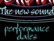 Performance Dates